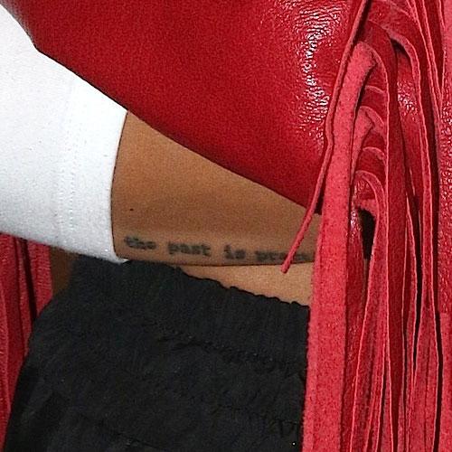 Karrueche Tran Hand Tattoos