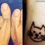 Kesha cat toe tattoo