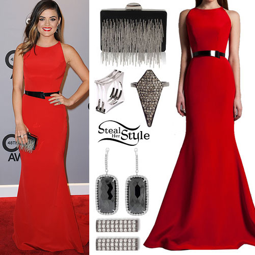 Lucy Hale: CMA Awards Outfit