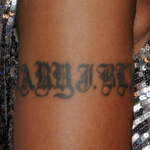 mary j blige 39 s 5 tattoos meanings steal her style
