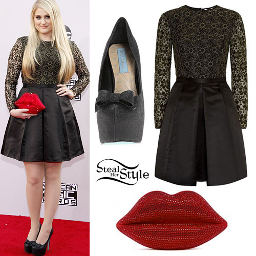 Meghan Trainor: 2014 AMAs Outfit