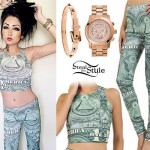 Melissa Marie Green: Money Crop Top & Leggings