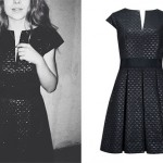 Sabrina Carpenter: Quilted Box-Pleat Dress