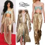 Zendaya 2014 American Music Awards Outfit