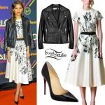 Zendaya: 2014 Halo Awards Outfits