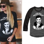 Alli Simpson: 'All About That Bass' Raglan