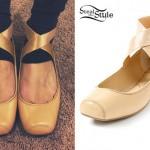 Allison Green: Nude Ballet Flats