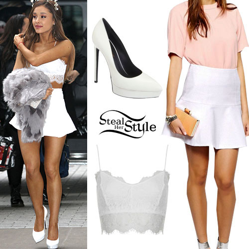 Ariana Grandes Clothes Outfits Steal Her Style Page 17