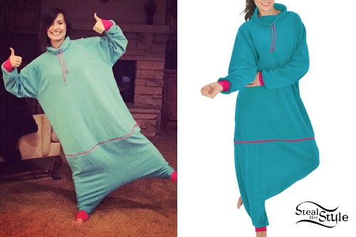 Demi Lovato: Baggy Onesie Pajamas
