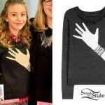 G Hannelius: Hand With Jewelry Sweater
