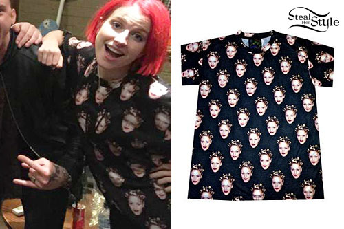 Hayley Williams: Gwen Stefani Print T-Shirt