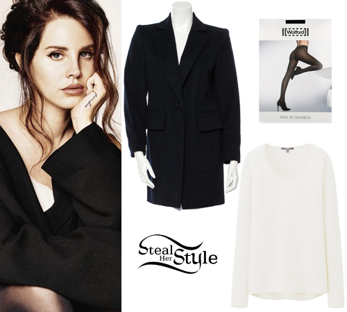 Lana Del Rey at Grazia Magazine December - photo: lanadelreyfan