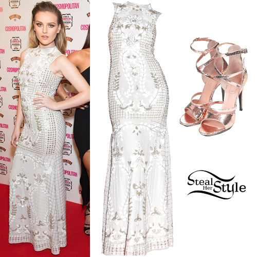 perrie edwards 2014 cosmo awards outfit steal her style