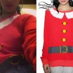 Rihanna: Santa Claus Sweater