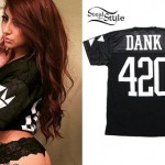 Allison Green: 'Dank 420' Athletic Jersey