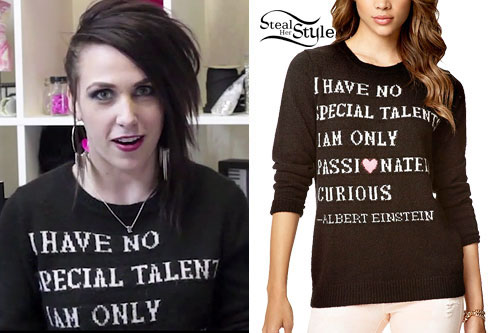 Ariel Bloomer: 'No Special Talent' Sweater