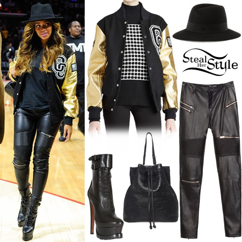 Beyonce at the Cleveland Cavaliers vs. Los Angeles Clippers game. January 16th, 2014 - photo: beyonceonline