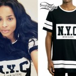 Ciara: New York City Athletic T-Shirt