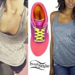 Demi Lovato: Hope Tank, Pink Sneakers