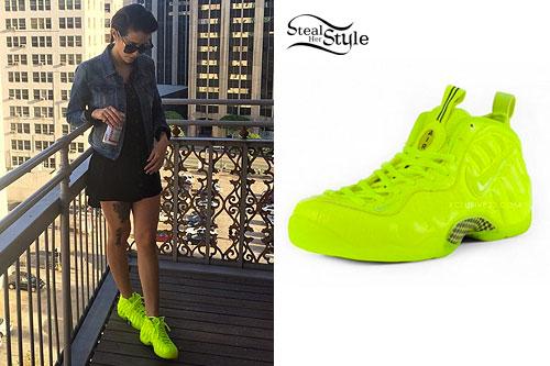 DEV: Neon Yellow Sneakers