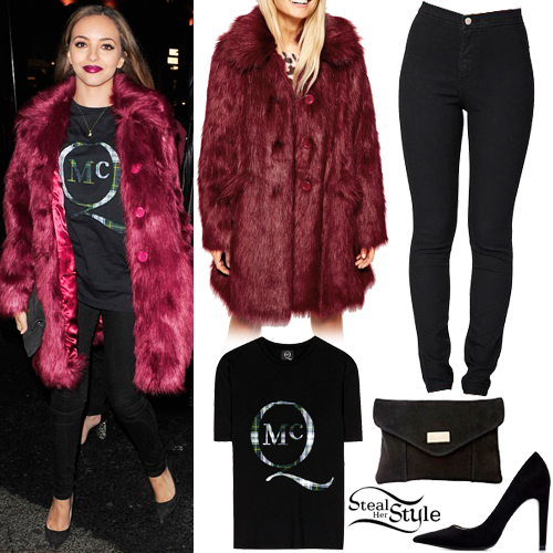 Jade Thirlwall arriving at Mahiki Club. January 29th, 2014 - photo: littlemixbrasil