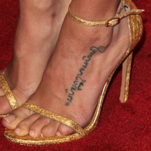Celebrity tattoos steal her style for Channing tatum tattoo side by side