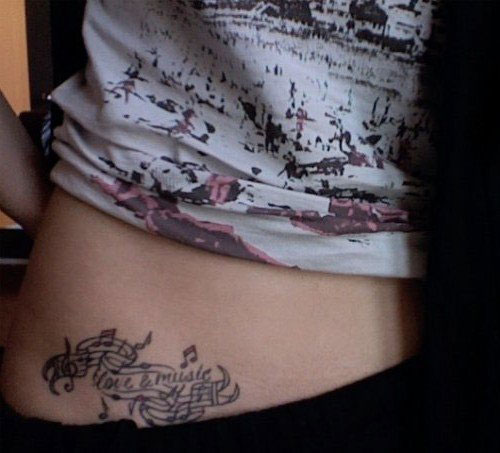 jojo-love-music-stomach-tattoo