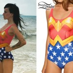 LIGHTS: Wonder Woman Swimsuit
