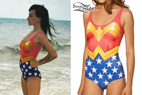 LIGHTS: Wonder Woman Swimsuit