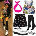 Melissa Marie Green: Keith Haring Crop Top