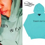 Miley Cyrus: Aqua 'Trippy & Co.' Hoodie