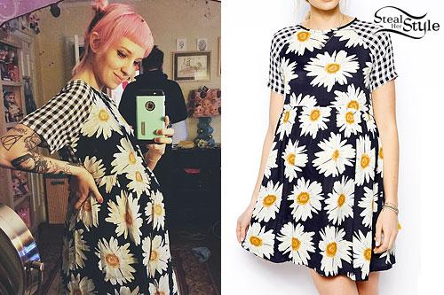 Sherri DuPree-Bemis: Daisy & Gingham Dress