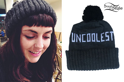 Sierra Kusterbeck: 'Uncoolest' Beanie