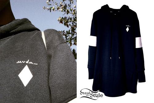 Willow Smith: MVDM Diamond Hoodie