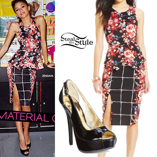 Zendaya 2015 Material Girl Outfits Style Tips 22 Jan 2015 Fashion Style Celebrity And