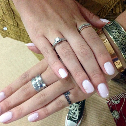 Bella Thorne White Nails | Steal Her Style