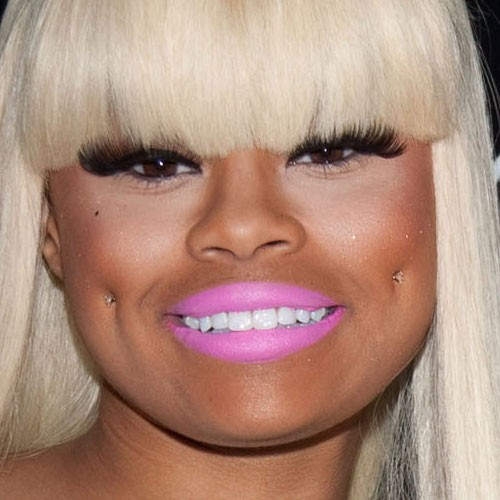 Blac Chyna Cheek Piercing