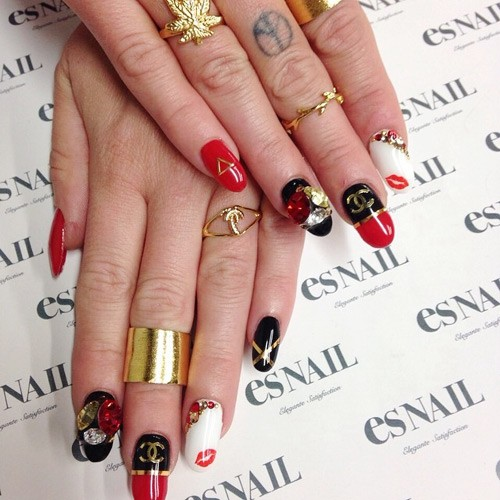 Chanel West Coasts Nail Polish Nail Art Steal Her Style