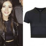 Chrissy Costanza: Cropped Zip Polo
