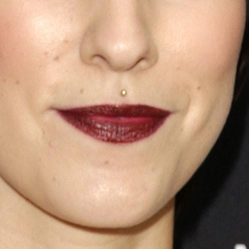 Celebrity medusa piercings steal her style