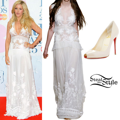 Ellie Goulding: 2015 BRIT Awards Outfit