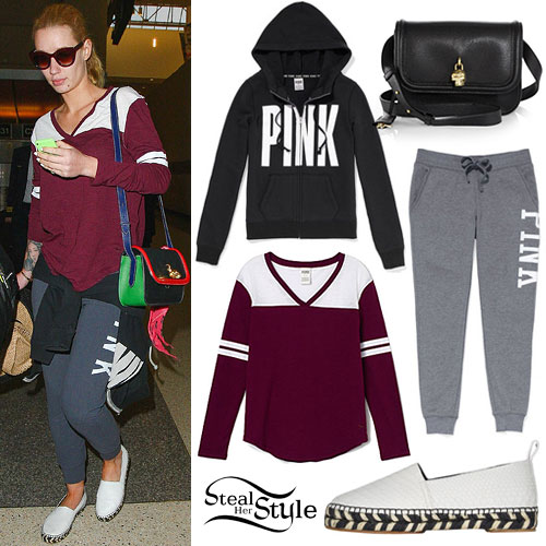 Iggy Azalea: Varsity Top, Slip-On Shoes