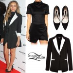 Jade Thirlwall at the Raymond Weil's pre-BRIT Awards Dinner. February 12th, 2015 - photo: little-mix.org