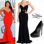 Jesy Nelson: 2015 BRIT Awards Outfit