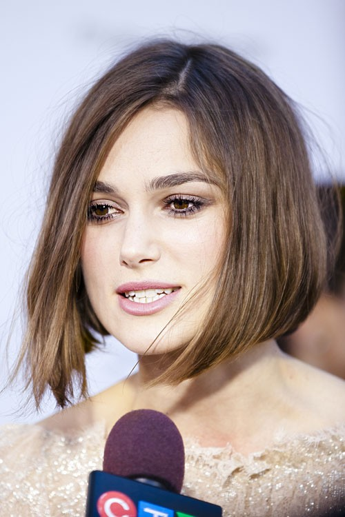 Keira Knightley's Hairstyles & Hair Colors | Steal Her Style