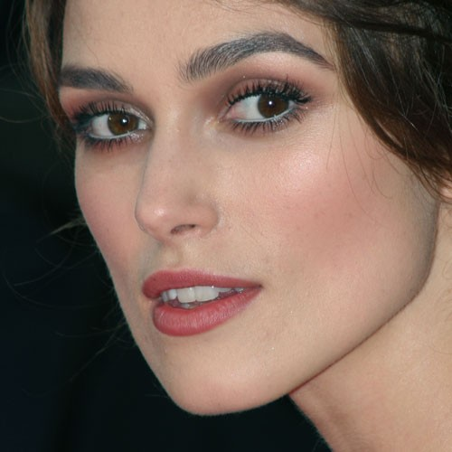 Brown Eye Close Up Keira Knightley's Make...