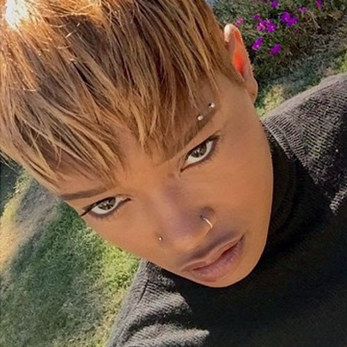 Keke Palmer 2 Nose Piercings Keke Palmer Eye...