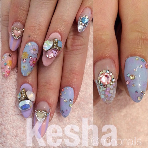 Kesha Nails   Steal Her Style