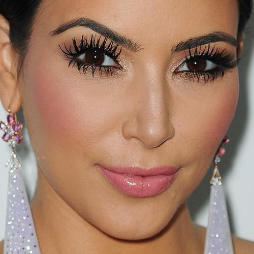 Kim Kardashian Makeup Bronze Eyeshadow Amp Pink Lip Gloss
