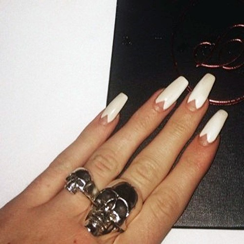 Coffin Shaped Nails Page 6 Of 12 Steal Her Style Page 6